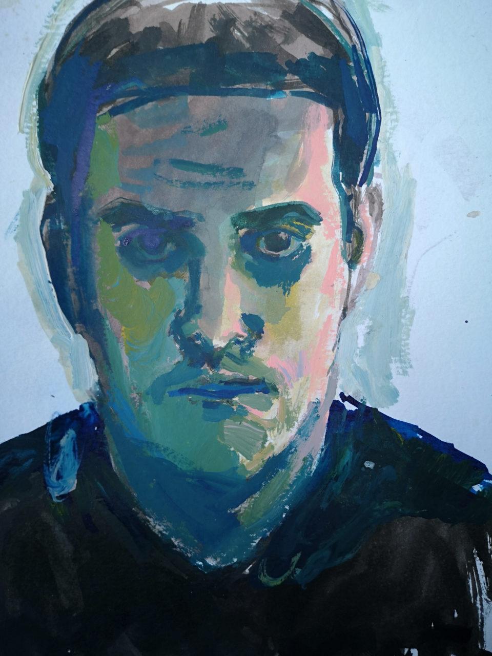 Autoportrait_Peinture_Laurent_Esquerre