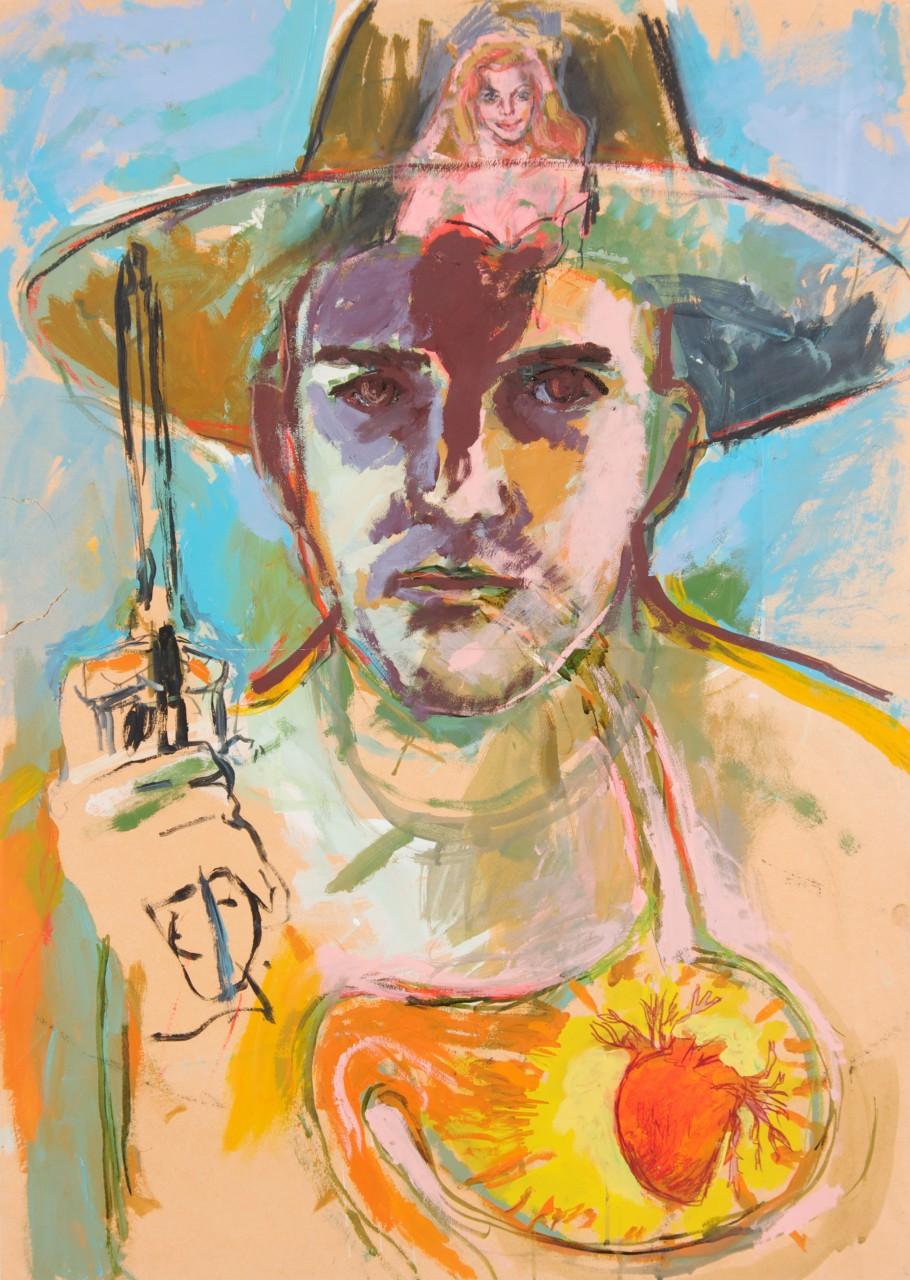 peinture-cow-boy-laurent-esquerre-1